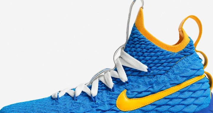 73f20ff3bce7 Last Night s Waffle Trainer-Inspired LeBron 15 PE Kicked Off Nike s ...
