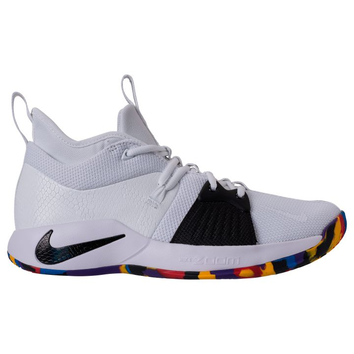 05da1bbd460 Official Look at the Nike PG 2  White Multi  for March Madness ...