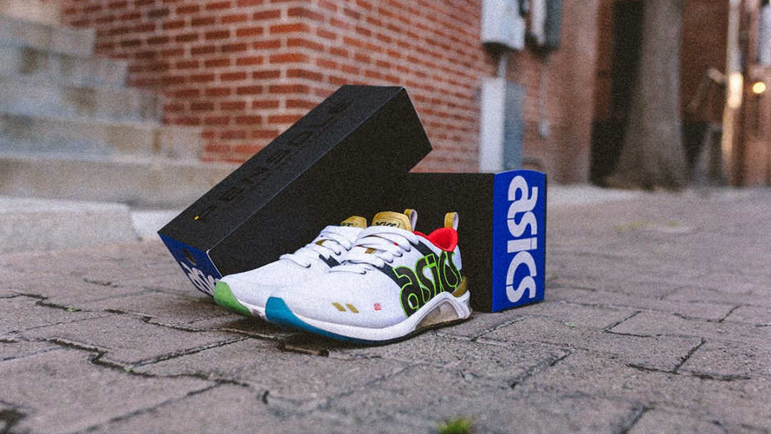 67d80fb437ef The PENSOLE x Asics  Fresh Up  GEL-180 Will Release This Saturday ...
