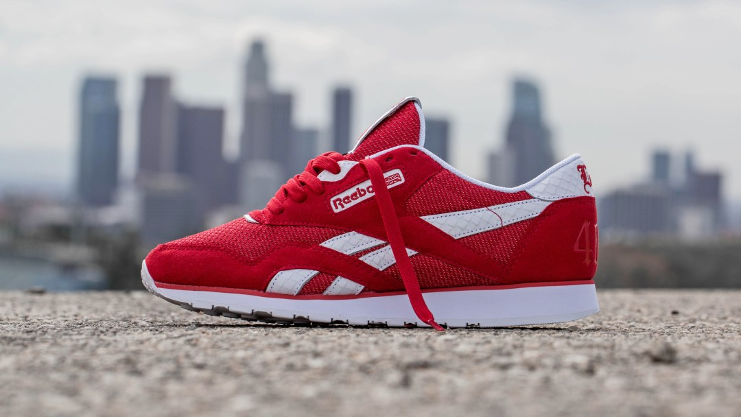 0ccebe2dc54 YG Links with Reebok for Kevlar-Infused Classic Nylon '4HUNNID ...
