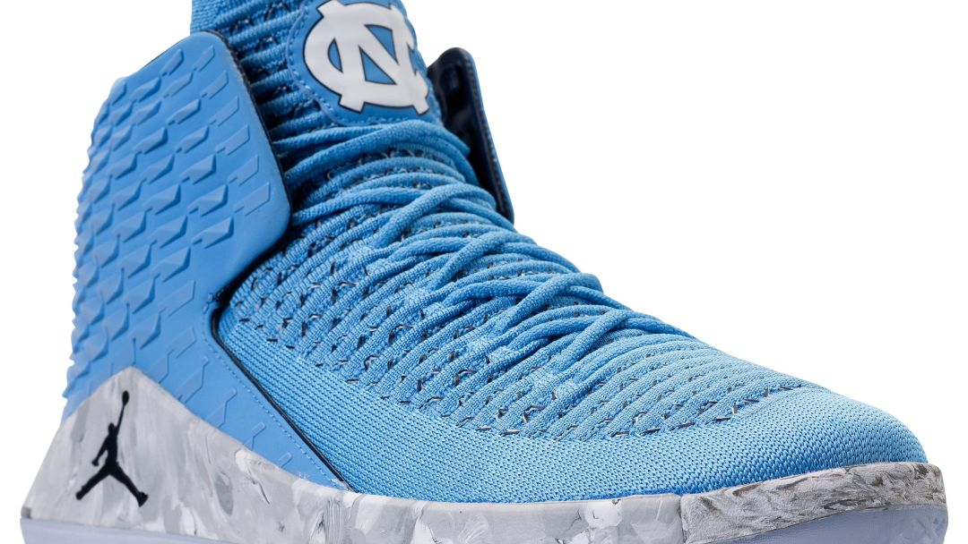 730159118f10c1 An Air Jordan 32  UNC  PE is Arriving at Retail for March Madness ...