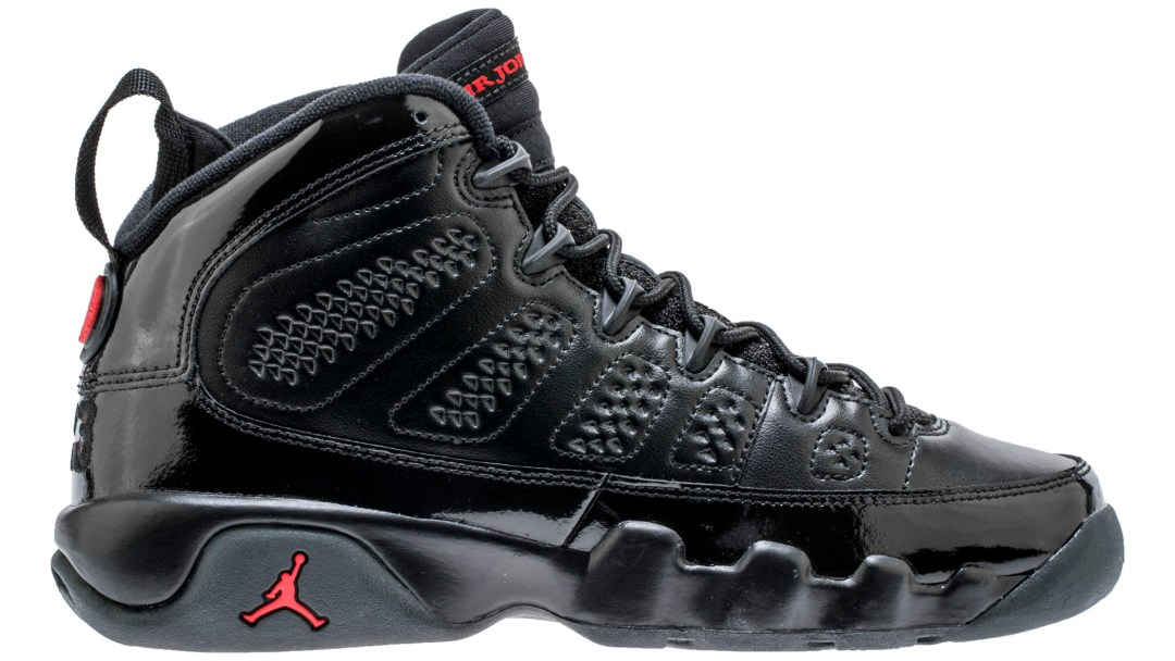 ce80250a33da5d The Air Jordan 9 in Black University Red Drops for March Madness ...