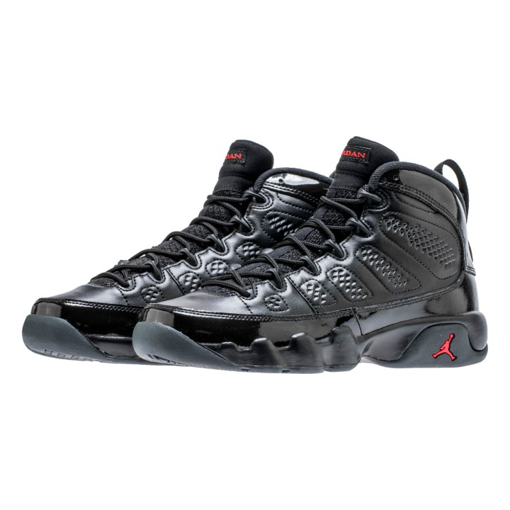 1a2a9d0a3263 The Air Jordan 9 in Black University Red Drops for March Madness ...