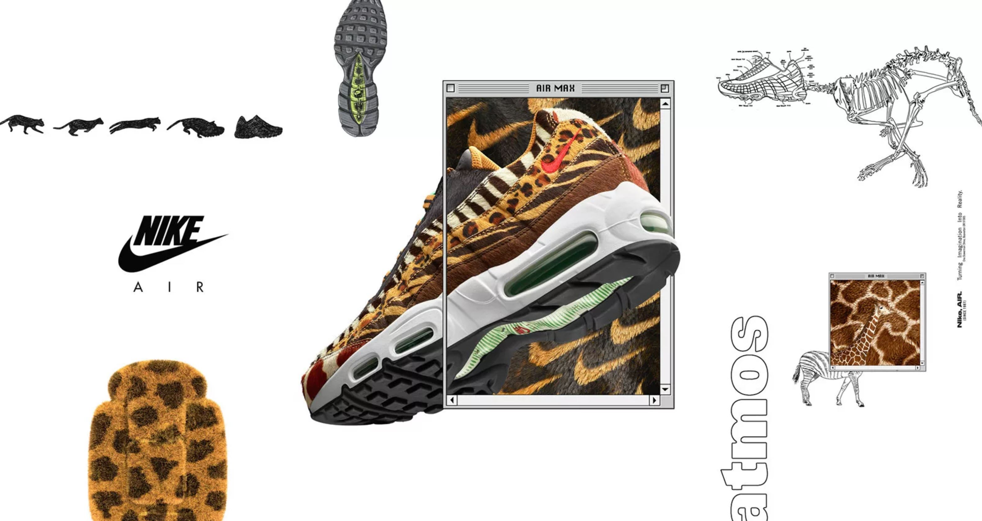 atmos and Nike are Bringing Back Animal Prints for Air Max Day ... 9c845ecf8