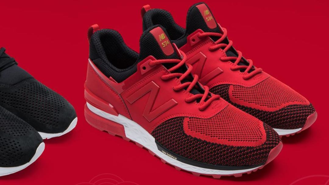 fb1387f8ee5 New Balance Drops Chinese New Year Pack - Includes 574 Sport