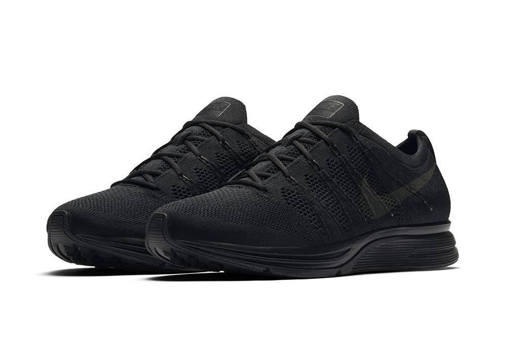 175853ec6fdb A Triple Black Nike Flyknit Trainer is on the Horizon - WearTesters