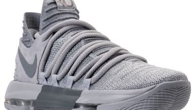 de50cf54536cd The Nike KD 10 is Going Cool Grey and Wolf Grey After All-Star Weekend