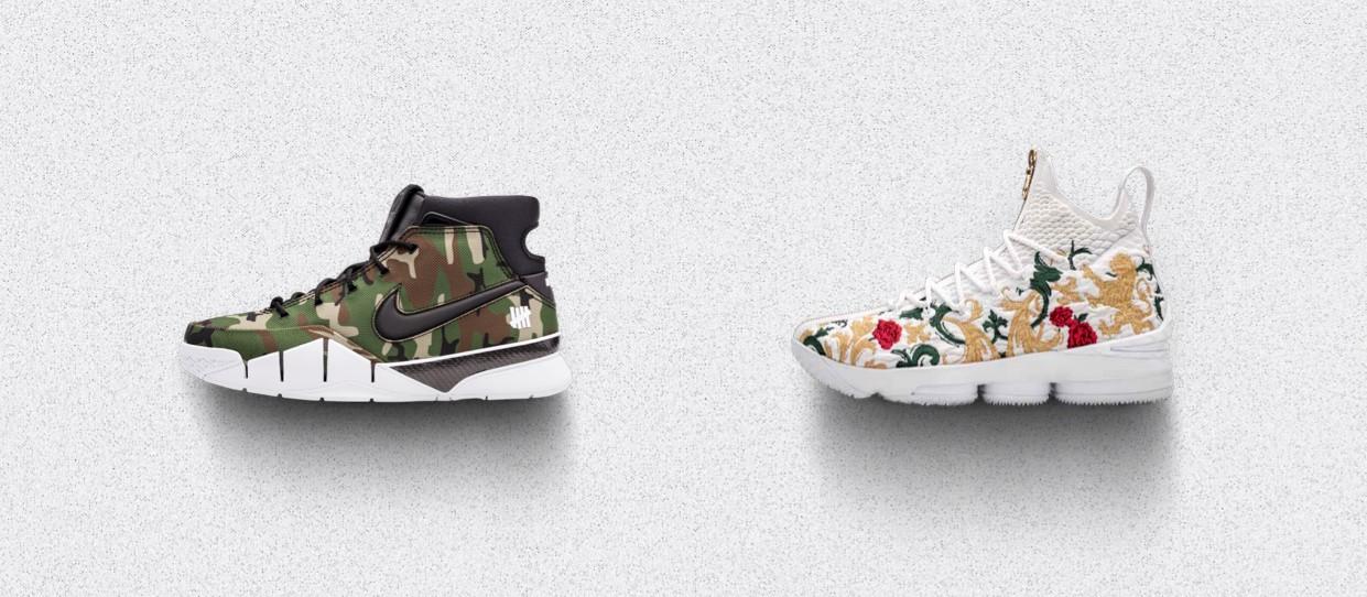 3653a256f0e2c1 Nike Announces Zoom Kobe 1 Protro x UNDEFEATED and LeBron x Kith ...