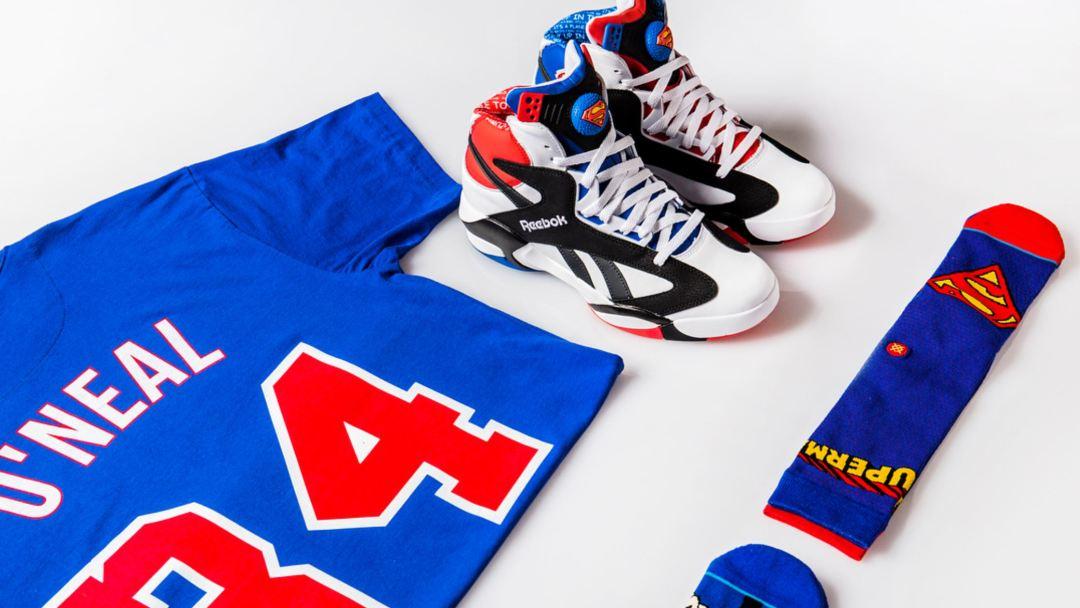shoe palace reebok shaq attaq superman 1