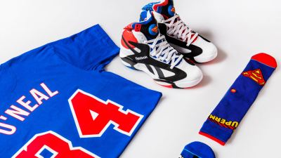 475fd1251d60 Shaq and Shoe Palace are Releasing a  Superman  Shaq Attaq Capsule for  All-Star