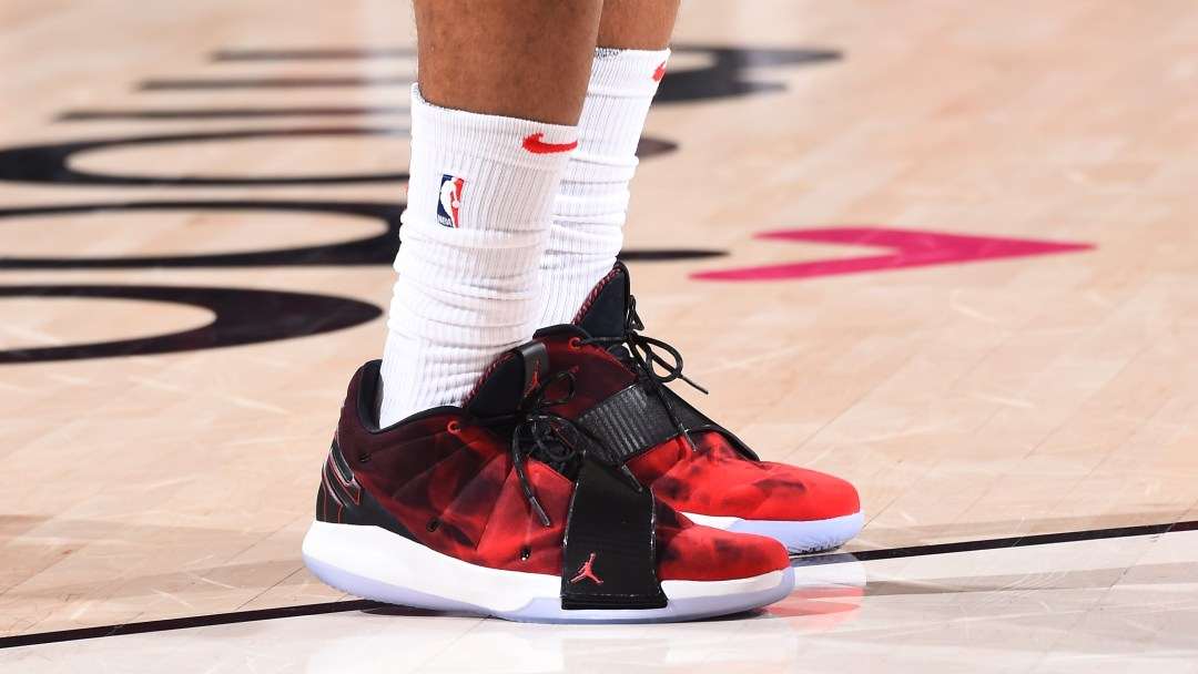 ff6af6e5d761 Chris Paul Debuts Jordan CP3.XI in Rockets Win Over Trail Blazers ...