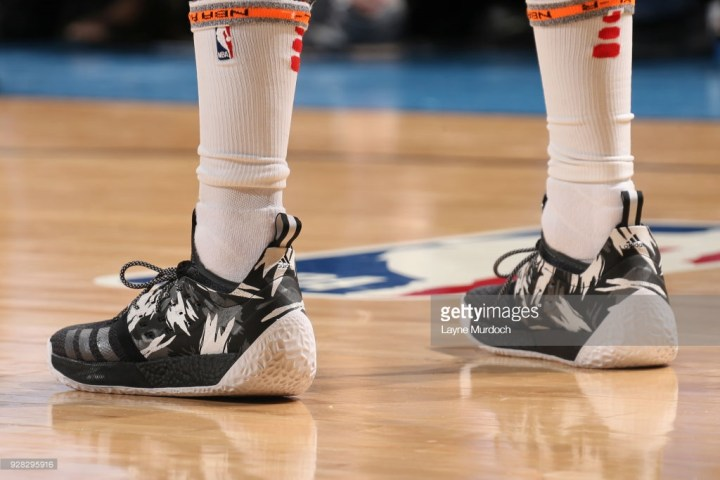 a448616f5f63 Last Night James Harden Debuted the Harden Vol 2  Traffic Jam ...