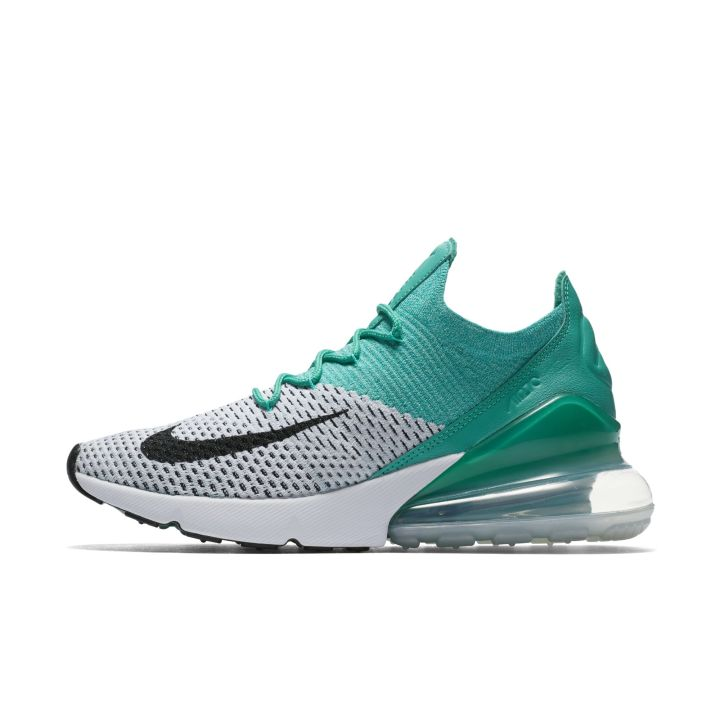 huge selection of 0273a b9826 ... nike air max 270 flyknit emerald womens ...