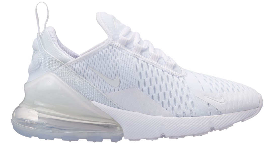 womens nike air max 270 triple white 564f024d96