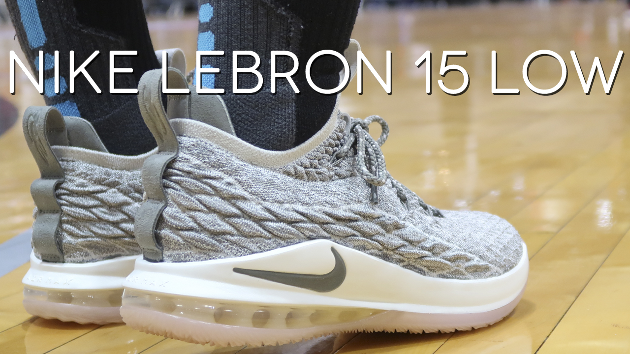 new arrival bbe31 65123 A Detailed Look at the Nike LeBron 15 Low - WearTesters