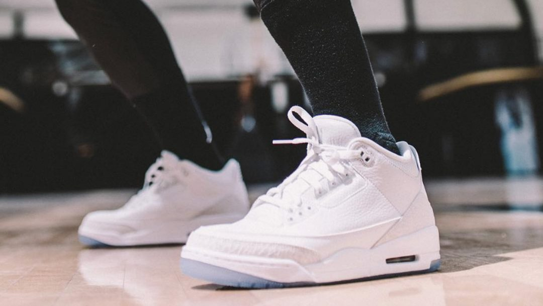 817649144f02af Another Look at the Upcoming Air Jordan 3  Pure White  - WearTesters