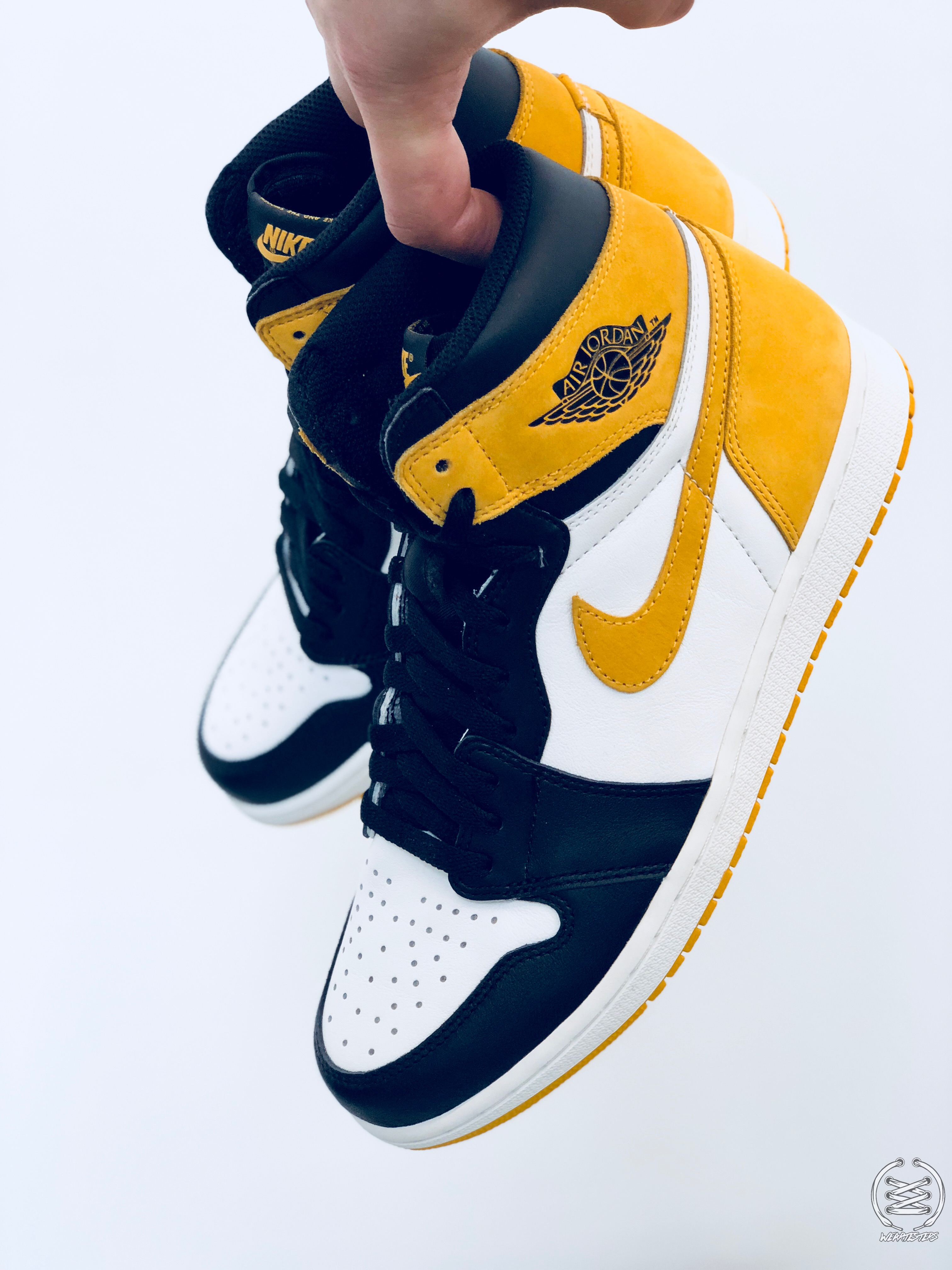 674001f43bd4 Air Jordan 1 Yellow Ochre Best Hand in the Game collection - WearTesters