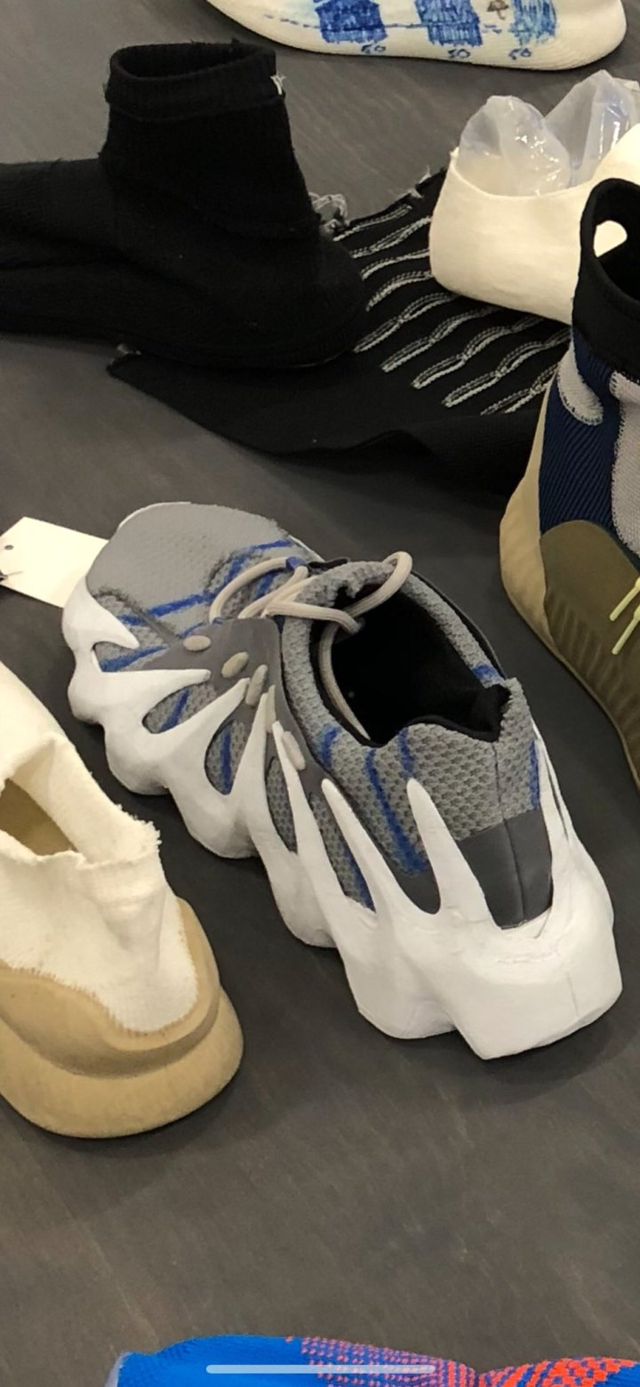 b99731fd Kanye West Breaks the Internet with Never-Before-Seen Yeezys ...