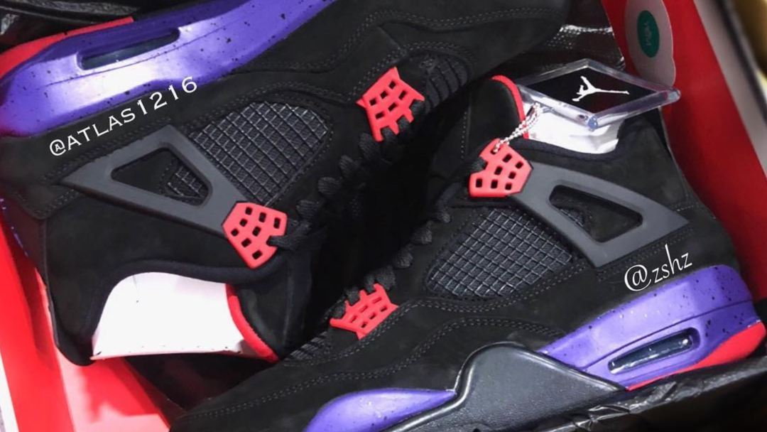 ff262ee2a95604 The Toronto Raptors are Getting an Air Jordan 4 NRG  Raptors ...