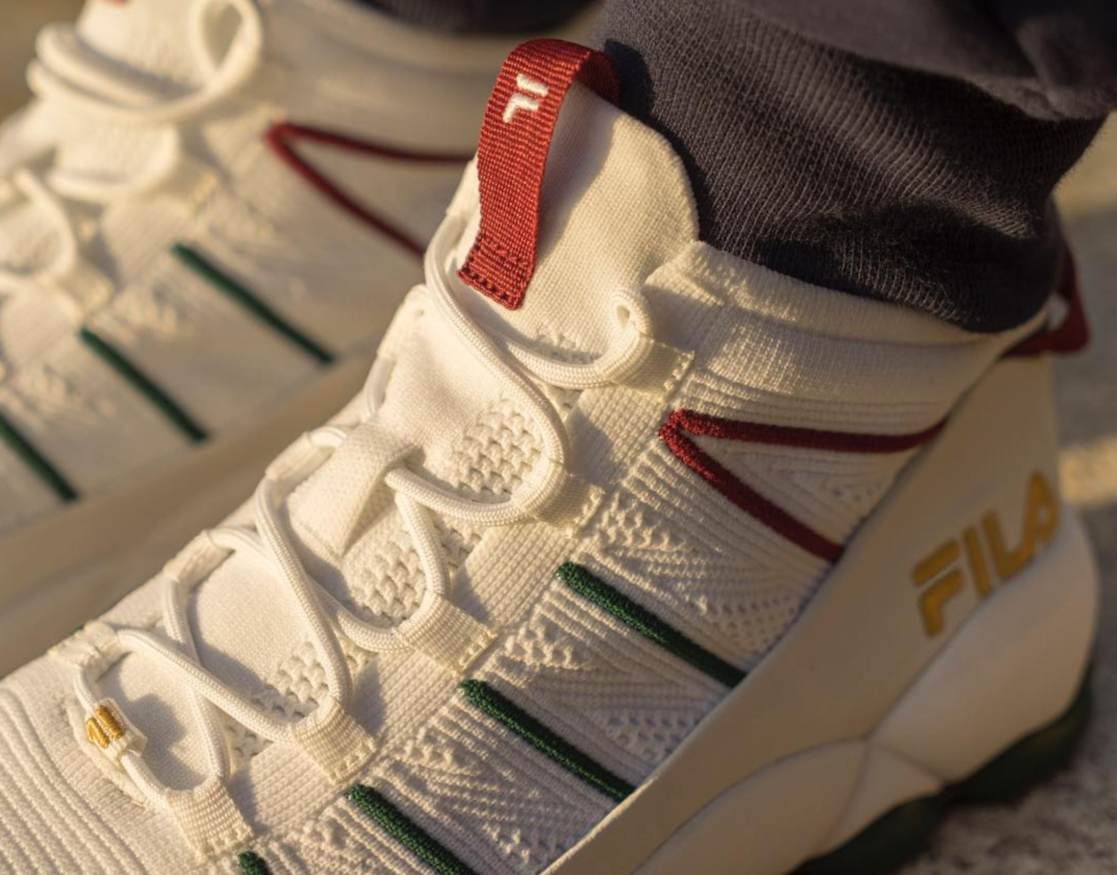 483cf6dbccd7f4 The FILA Spaghetti Knit Drops in Gucci-esque Colorway - WearTesters