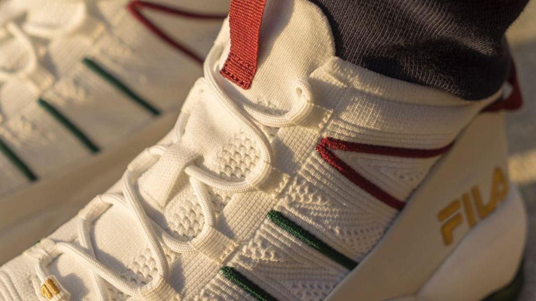 The FILA Spaghetti Knit Drops in Gucci-esque Colorway - WearTesters 34c38b339