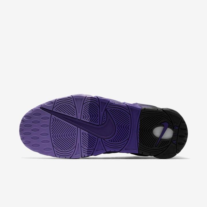 nike air more money court purple quickstrike 5