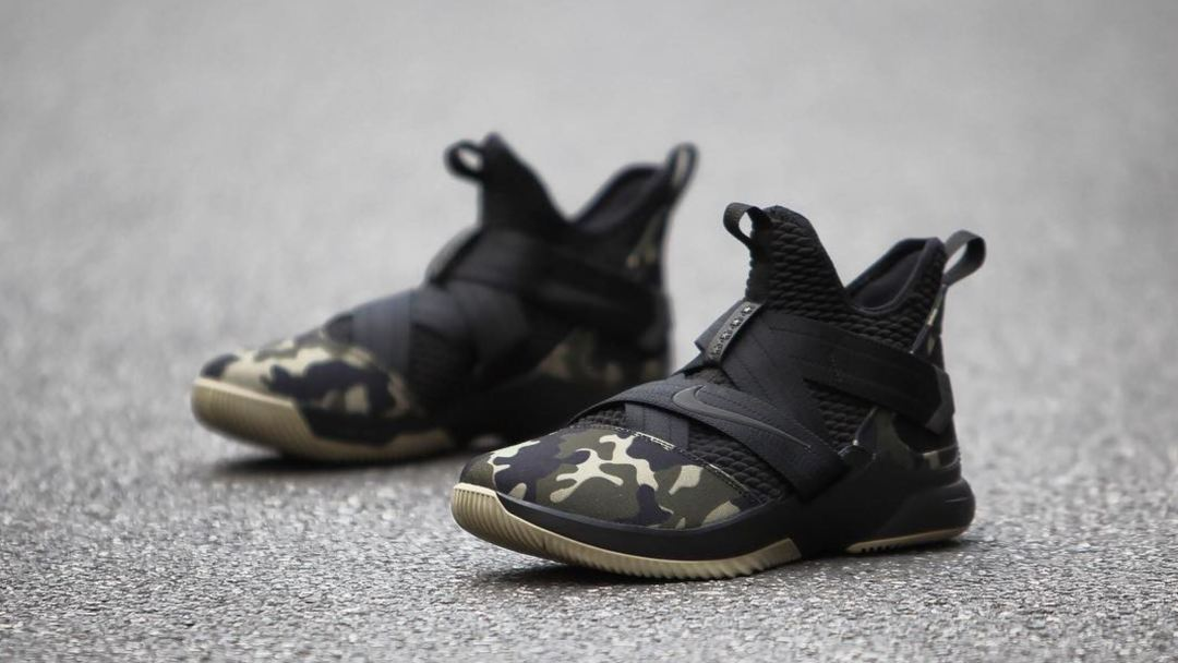 263fb5fcc47 Here s a Detailed Look at the Nike LeBron Soldier 12  Camo ...