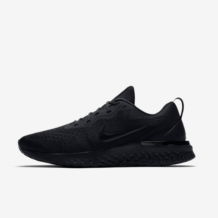 nike odyssey react triple black 2