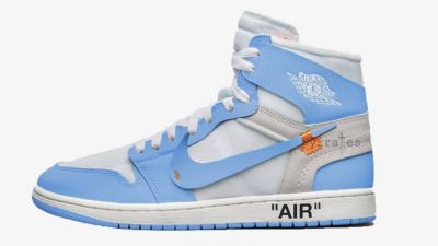 off white air jordan 1 unc release date