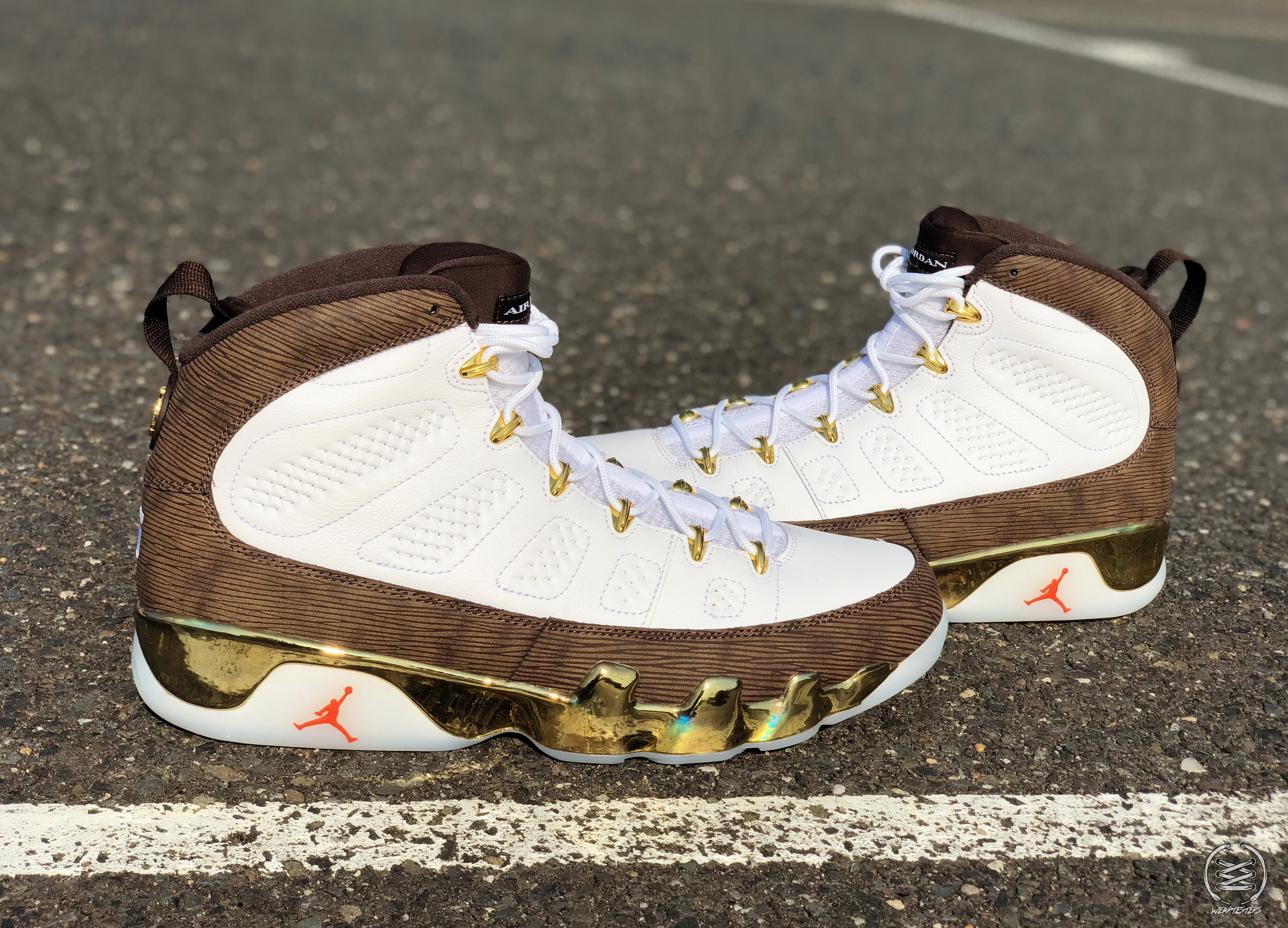 7e8c5f705d8 Detailed Look at the Air Jordan 9  MOP Melo  - WearTesters