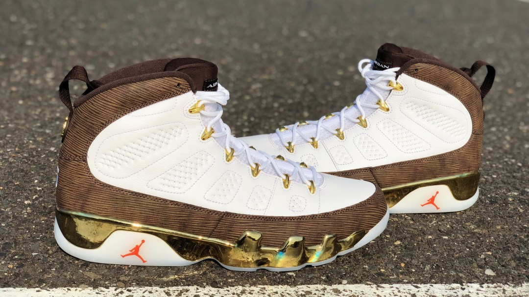 c374bbac7cce Detailed Look at the Air Jordan 9  MOP Melo  - WearTesters