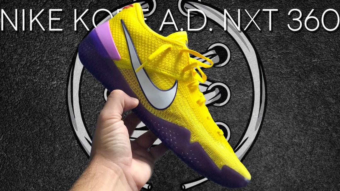 buy online adb6d c9edd Nike Kobe AD NXT 360  Yellow Strike    Detailed Look - WearTesters