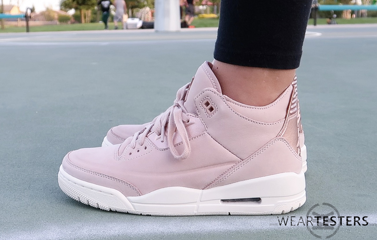 sports shoes e0cfa 71707 ... coupon code for womens air jordan 3 retro se rose gold 12 d8205 86157