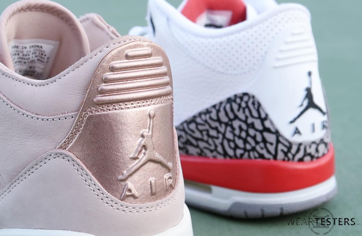 Womens-Air-Jordan-3-Retro-SE-Rose-Gold-9 - WearTesters 46581bbb2