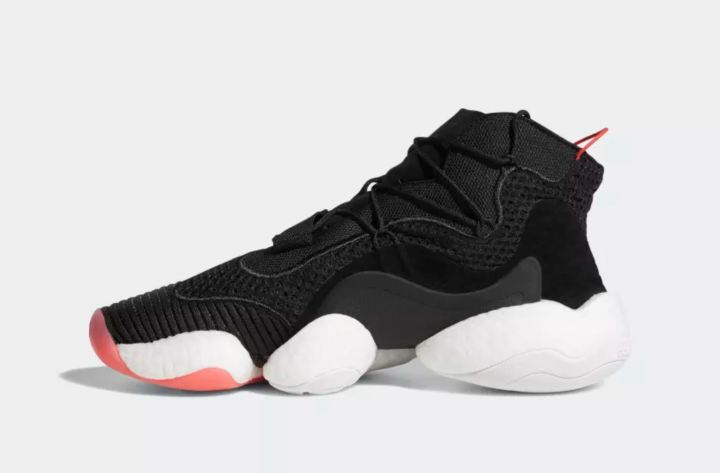 brand new e7e80 5c527 ... adidas crazy BYW black red 6