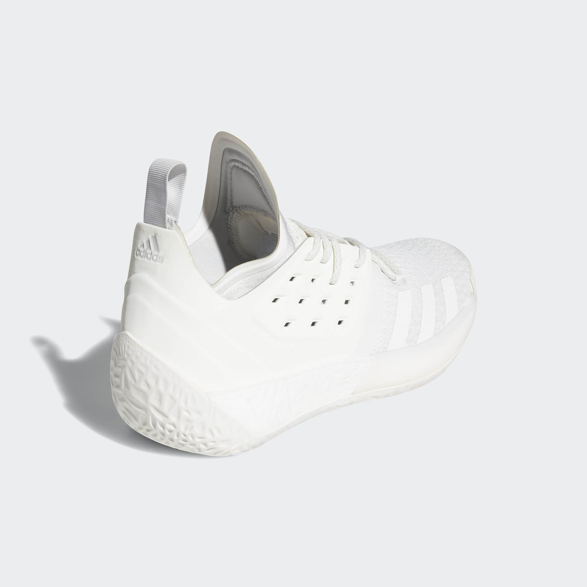 bd997504ffc1 adidas harden vol 2 grey white - WearTesters