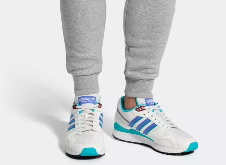 adidas ultra tech on foot