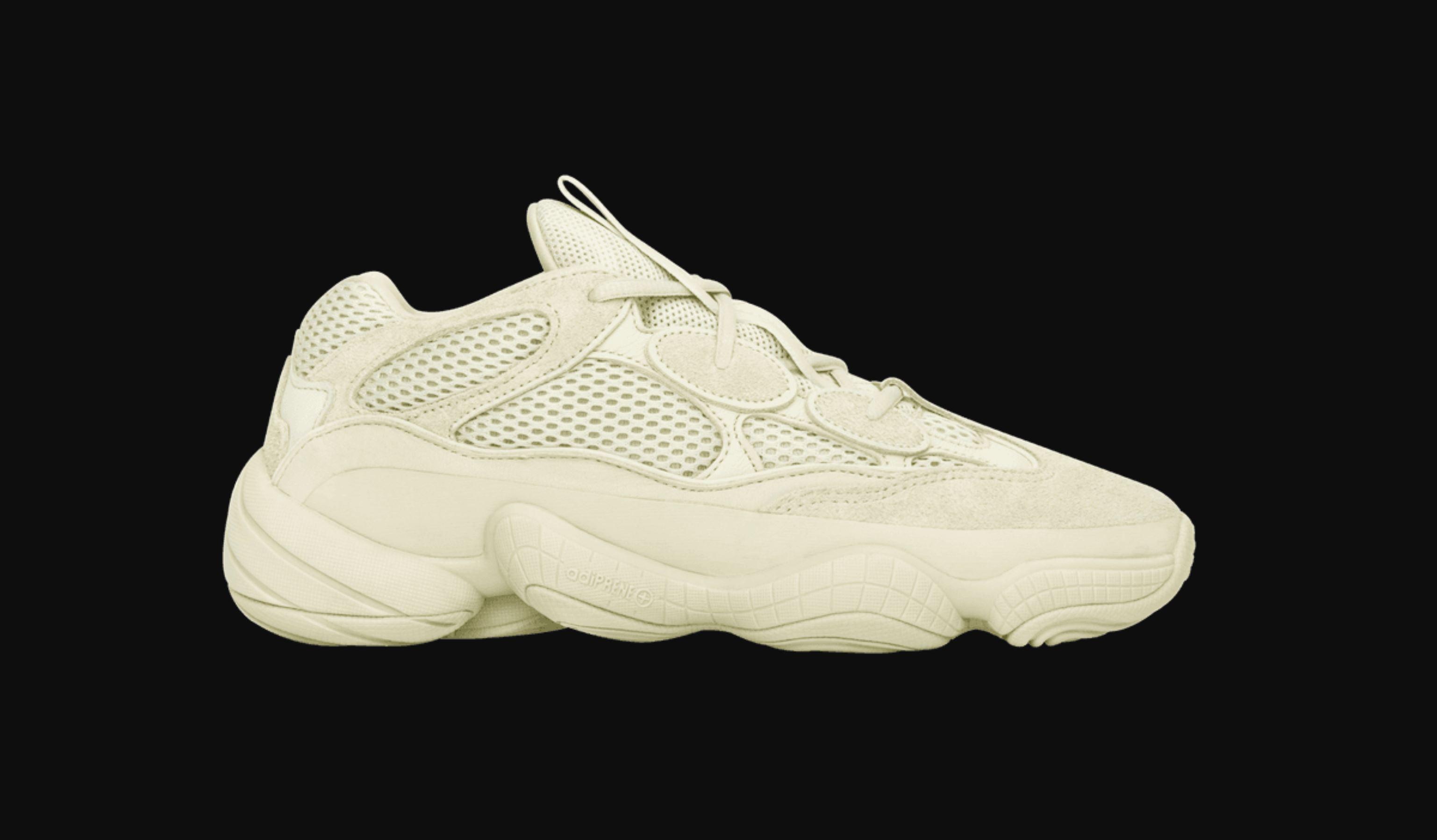 "adidas Yeezy 500 ""Utility Black on feet"