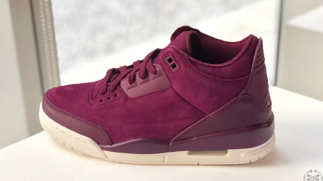 The Air Jordan 3  Burgundy  Will Release for Fall - WearTesters 7c2ac7025