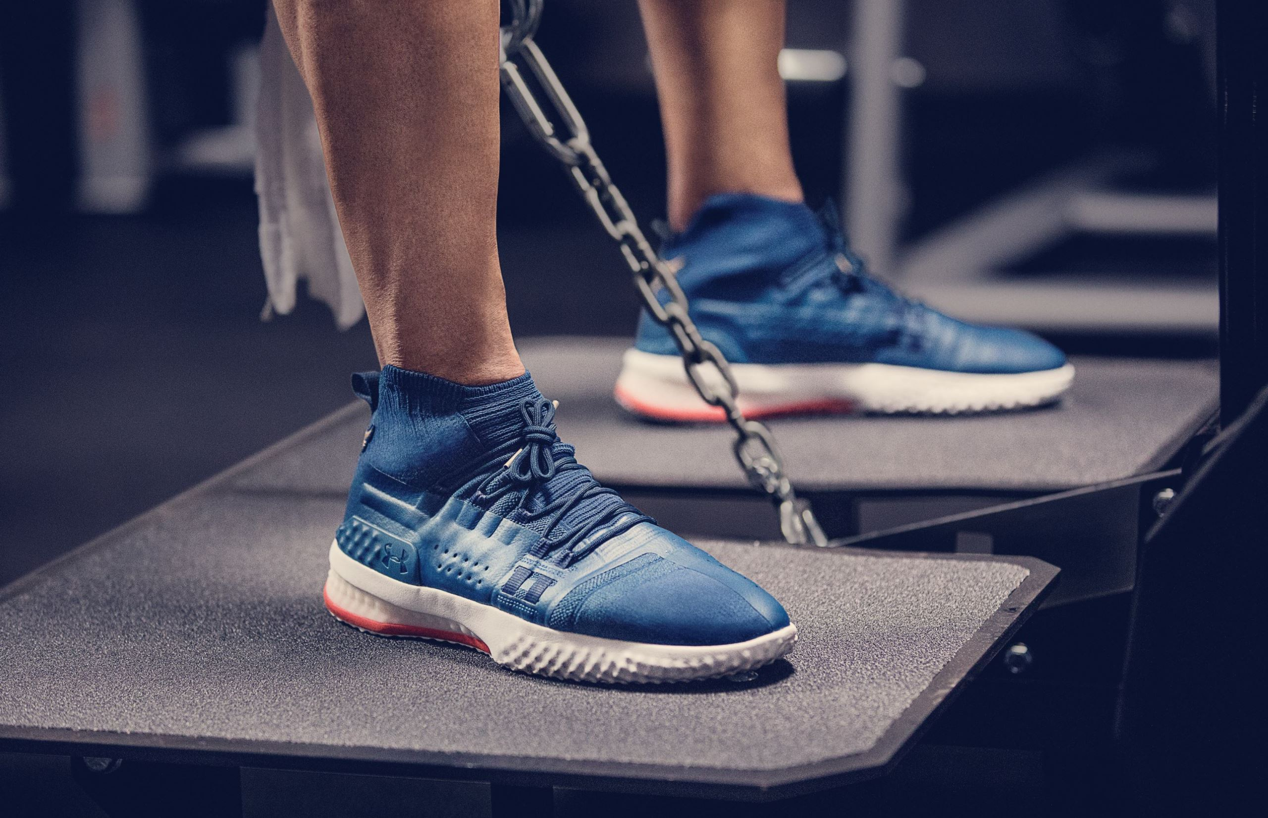 promo code d5f11 56011 dwayne johnson project rock 1 on foot · Kicks Off Court   Trainers   Under  Armour ...