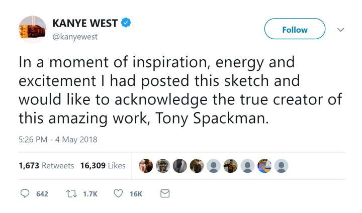 kanye west tony spackman sketches