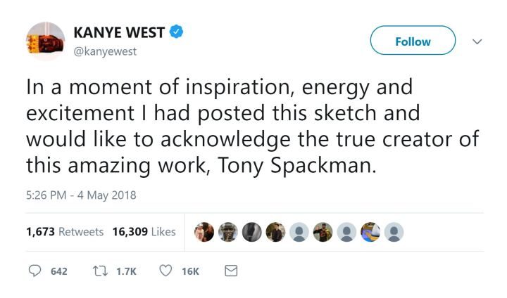 kanye west tony spackman sketches