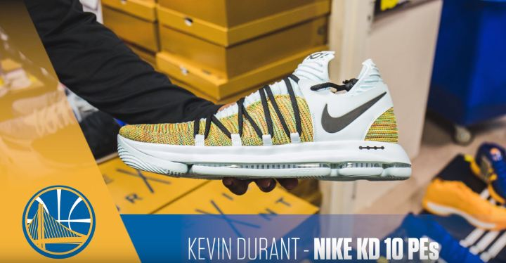 kevin durant nike kd 10 multicolor PE