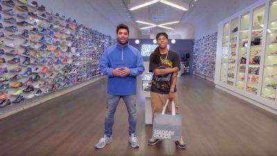 lena waithe sneaker shopping