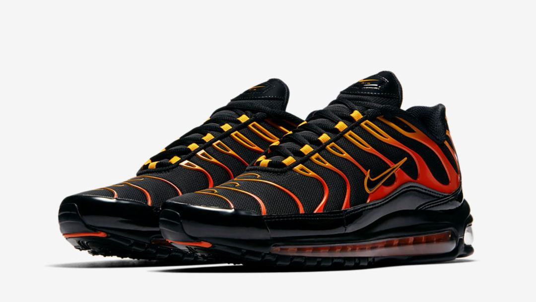 best sneakers 73967 d4d3d Flame On with the Nike Air Max Plus 97 'Shock Orange' - WearTesters