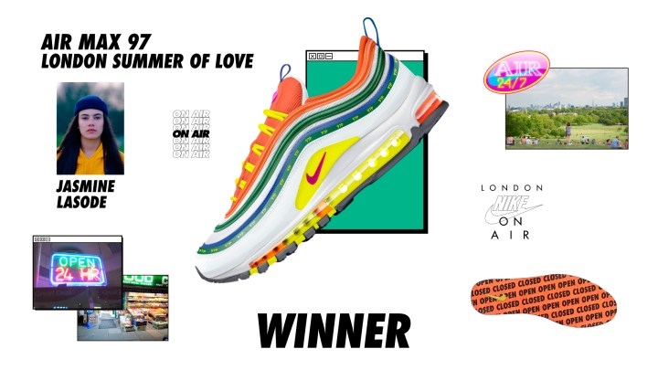 nike on air winners air max 97 summer of love jasmin lasode