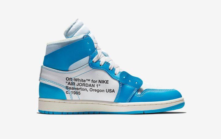 493270fb475ba9 The Off White Air Jordan 1  UNC  Got a Surprise Drop Today - WearTesters