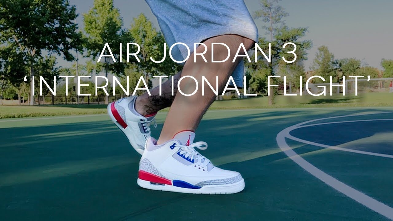1683d60a77cfe6 Air Jordan 3  International Flight