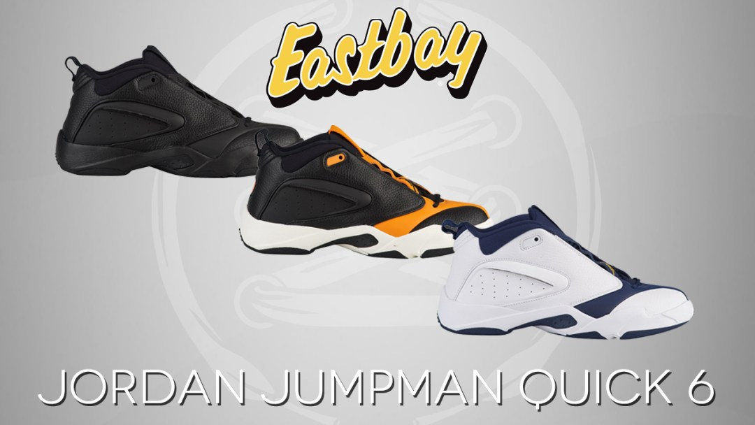 7e6f3eb2838c71 The Jordan Jumpman Quick 6 Retro Lands at Eastbay - WearTesters
