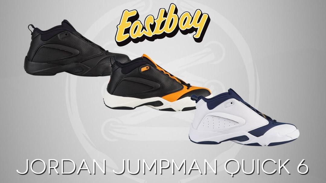 7c89a9f7530b The Jordan Jumpman Quick 6 Retro Lands at Eastbay - WearTesters